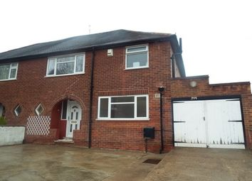 Thumbnail 3 bed property to rent in Greenwood Road, Carlton, Nottingham