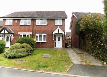 Thumbnail 3 bed semi-detached house for sale in Robins Close, Droylsden, Manchester
