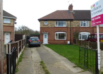 Thumbnail 3 bed semi-detached house for sale in Milne Road, Bircotes, Doncaster
