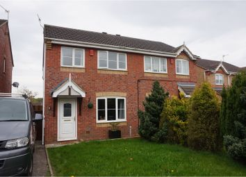 Thumbnail 3 bed semi-detached house for sale in Ravenna Way, Stoke-On-Trent