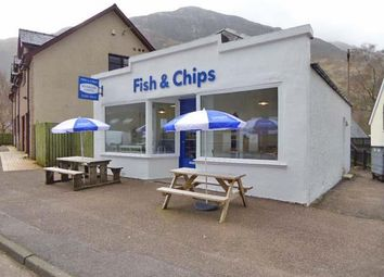 Thumbnail Commercial property for sale in Fish & Chip Takeaway, Riverside Rd, Kinlochleven
