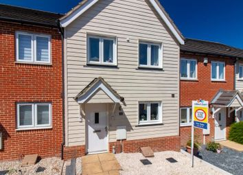 Thumbnail 2 bed terraced house for sale in Lewis Road, Hawkinge, Folkestone