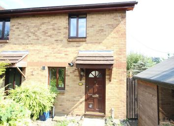 Thumbnail 2 bedroom end terrace house for sale in Vicary Close, Newton Abbot
