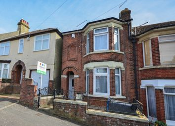 Thumbnail 3 bedroom end terrace house for sale in Stanhope Road, Dover