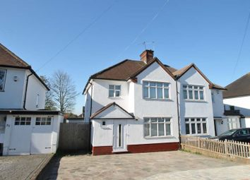 Thumbnail 3 bed semi-detached house for sale in Pinner Road, Northwood, Middlesex
