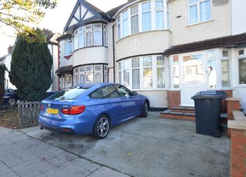 Thumbnail 3 bed semi-detached house to rent in Dawlish Avenue, Perivale, Greenford