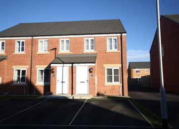 Thumbnail 2 bed terraced house for sale in Gatcombe Way, Newfield, Chester Le Street