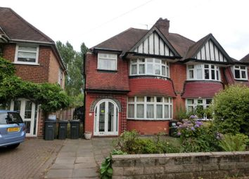 Thumbnail 3 bed semi-detached house for sale in Studland Road, Hall Green, Birmingham