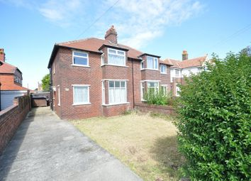 Thumbnail 3 bed semi-detached house for sale in St Leonards Road East, St Annes, Lytham St Annes, Lancashire