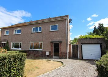 Thumbnail 3 bed semi-detached house for sale in 17 Broom Drive, Lochardil, Inverness.