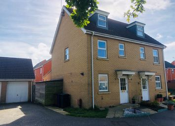 Thumbnail Semi-detached house for sale in Selway Drive, Bury St. Edmunds