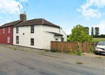 Thumbnail 2 bed semi-detached house for sale in Gambles Corner, School Road, St. Johns Fen End, Wisbech