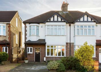 Thumbnail 3 bed semi-detached house for sale in Summerhill Grove, Enfield