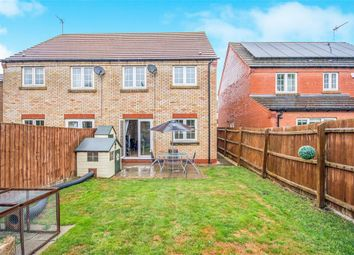 Thumbnail 3 bed semi-detached house for sale in Poppy Close, Ramsey St. Marys, Huntingdon