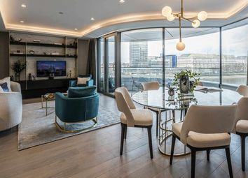 Thumbnail 2 bed flat for sale in The Corniche, Albert Embankment, Londom