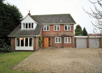 Thumbnail 4 bed detached house to rent in The Croft, Old Costessey, Norwich