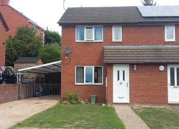 Thumbnail 2 bed semi-detached house for sale in Pont Yr Afon, Penycae, Wrexham