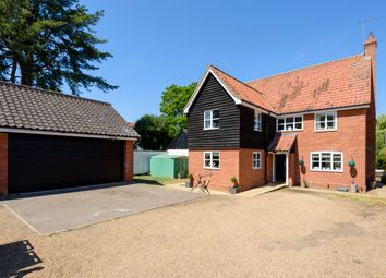 Thumbnail 4 bed detached house for sale in West Hall Drive, Mundford, Thetford