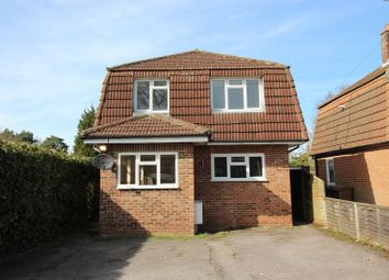 Thumbnail 3 bed detached house to rent in Highland Road, Camberley