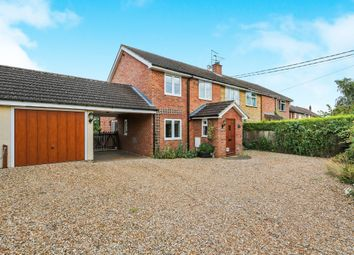 Thumbnail 4 bed semi-detached house for sale in Helmingham Road, Gosbeck, Ipswich