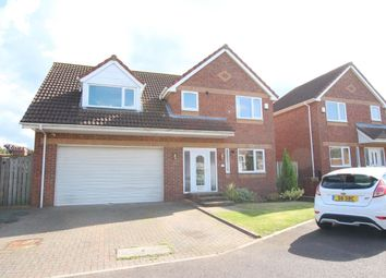 Thumbnail 5 bed detached house for sale in Burnwood Close, Chopwell, Newcastle Upon Tyne
