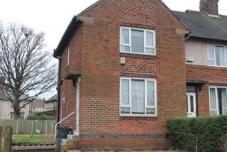 Thumbnail 2 bed end terrace house to rent in Launce Road, Sheffield
