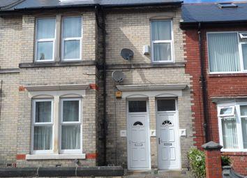 Thumbnail 4 bedroom maisonette to rent in Rokeby Terrace, Newcastle Upon Tyne