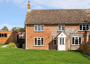 Thumbnail 3 bed semi-detached house to rent in Brunton, Collingbourne Kingston, Marlborough