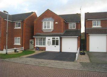 Thumbnail 4 bed detached house for sale in Cromford Way, Broughton Astley, Leicester