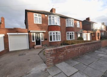 3 bed semi-detached house to rent in Stokesley Grove, High Heaton, Newcastle Upon Tyne NE7