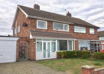 Thumbnail 3 bed semi-detached house to rent in Cromwell Road, Mountsorrel, Leicestershire