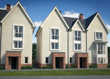 Thumbnail 3 bed end terrace house for sale in Tadpole Garden Village, Blunsdon, Swindon