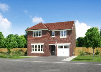 "Thumbnail 4 bed detached house for sale in ""Dukeswood"" at Palladian Gardens, Hooton Road, Hooton, Wirral"
