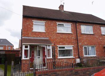 Thumbnail 3 bed semi-detached house for sale in Waverley Avenue, Bedlington