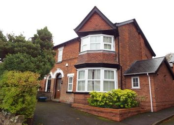 Thumbnail 2 bed flat to rent in Highbridge Road, Sutton Coldfield
