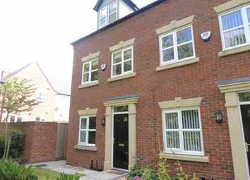Thumbnail 3 bedroom town house for sale in Middlewood Walk, Marple, Stockport