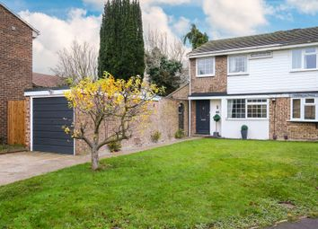 Thumbnail 3 bed semi-detached house for sale in Beechwood Avenue, Melbourn, Royston