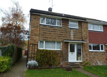 Thumbnail 3 bed terraced house for sale in Du Pre Walk, Wooburn Green, High Wycombe