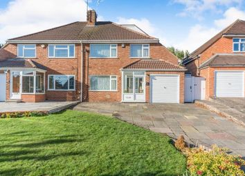 Thumbnail 3 bed semi-detached house for sale in Sandy Croft, Kings Heath, Birmingham, West Midlands