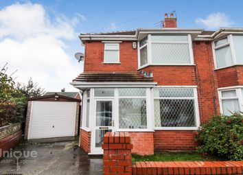 Thumbnail 3 bed semi-detached house for sale in Highbury Road East, Lytham St. Annes