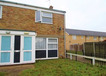Thumbnail 2 bed end terrace house to rent in Ilex Close, Colchester, Essex