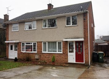 Thumbnail 3 bed semi-detached house for sale in Oak Farm Gardens, Ashford