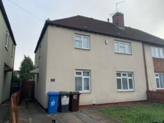 Thumbnail 3 bed semi-detached house to rent in Victory Road, Derby