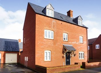 Thumbnail 5 bed detached house for sale in Orion Drive, Brackley