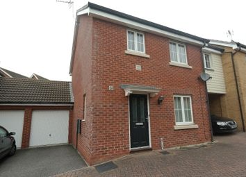 Thumbnail 3 bed terraced house to rent in Goosander Road, Stowmarket, Suffolk