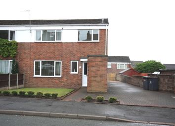 Thumbnail 3 bed end terrace house for sale in High Street, Talke Pits, Stoke-On-Trent