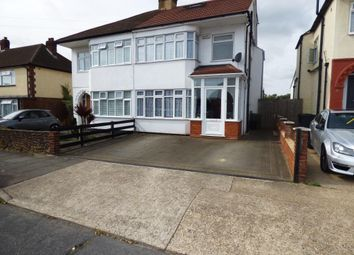 Thumbnail 4 bed semi-detached house for sale in Plumpton Avenue, Hornchurch, Essex
