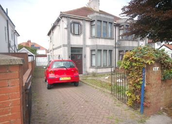 Thumbnail 3 bed semi-detached house for sale in Devonshire Road, Blackpool, Lancashire