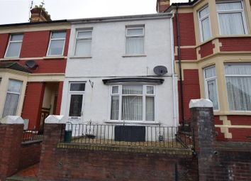 Thumbnail 3 bed terraced house for sale in Gladstone Road, Barry