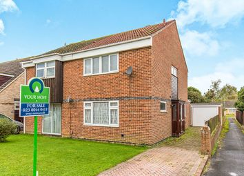 Thumbnail 3 bed semi-detached house for sale in Holmesland Drive, Botley, Southampton